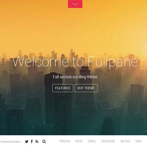 Themify Fullpane WordPress Theme