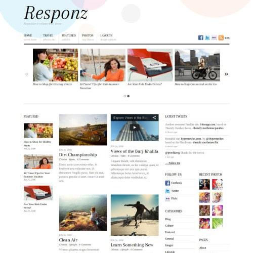 Themify Responz WordPress Theme