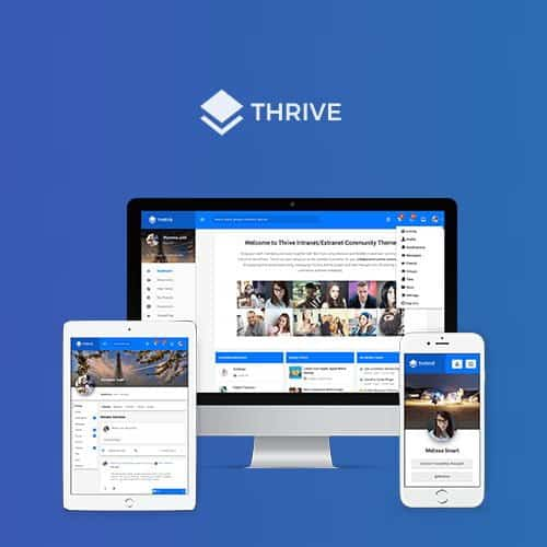 Thrive – Intranet Community WordPress Theme