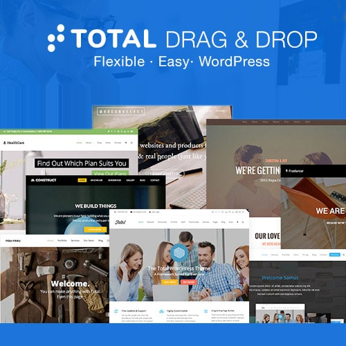 Total Responsive Multi Purpose WordPress Theme