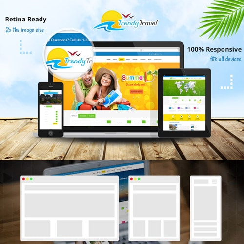 Trendy Travel Tour Travel Travel Agency Theme