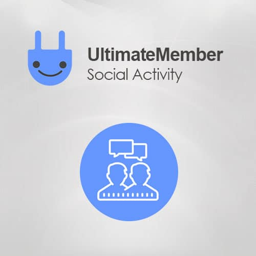 Ultimate Member Social Activity Addon