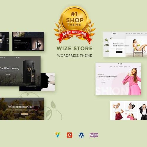 WooCommerce Multipurpose Responsive WordPress Theme WizeStore