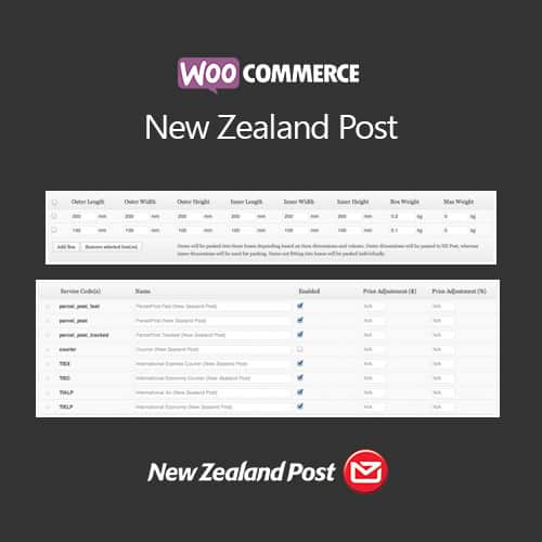 WooCommerce New Zealand Post
