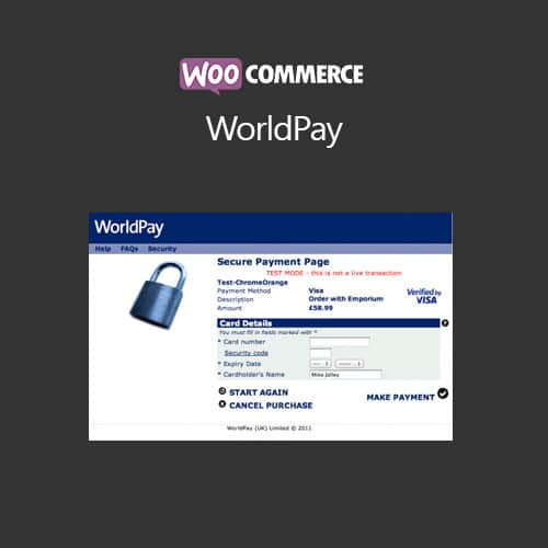 WooCommerce WorldPay
