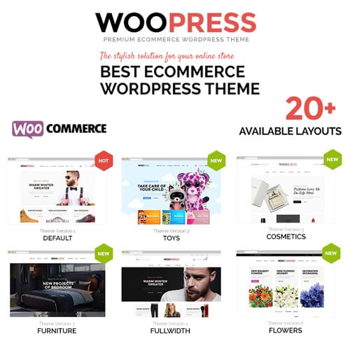 WooPress Responsive Ecommerce WordPress Theme