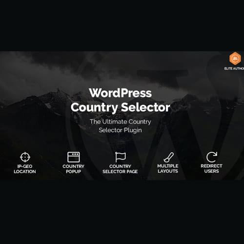 WordPress Country Selector