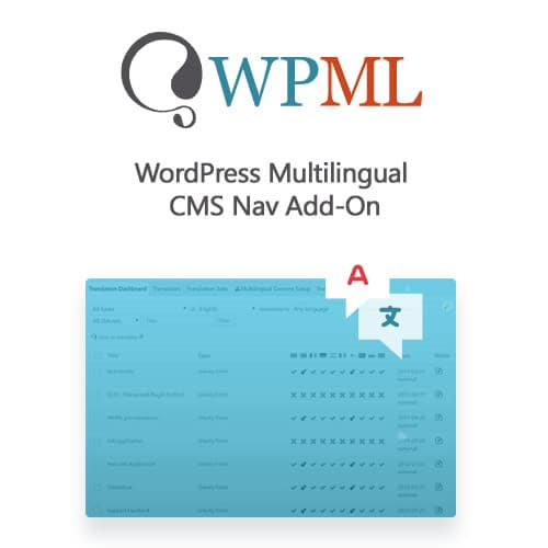 WordPress Multilingual CMS Nav Add On
