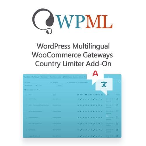 WordPress Multilingual WooCommerce Gateways Country Limiter Add On