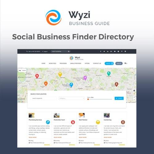 Wyzi Business Finder WordPress Directory Listing Theme
