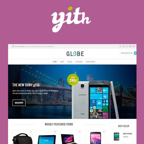 YITH Globe Hi Tech WordPress E Commerce Theme