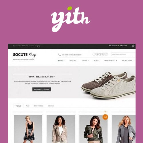 YITH Socute Multi Purpose E Commerce Theme