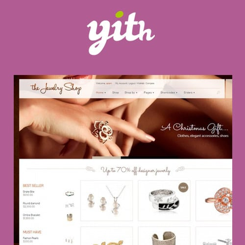 YITH The Jewelry Shop A Luxurious and Elegant Theme