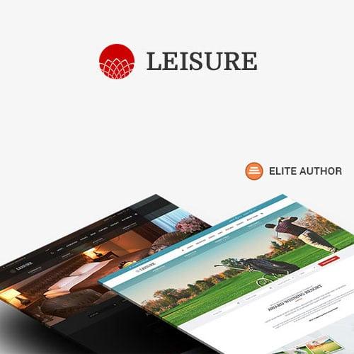 Hotel WordPress Theme Hotel Leisure