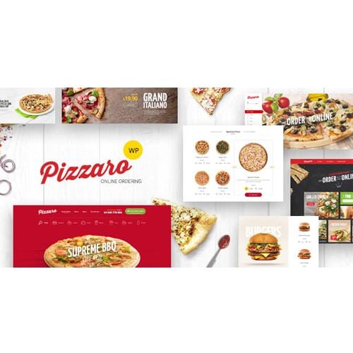 Pizzaro Fast Food Restaurant WooCommerce Theme