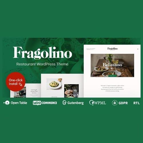 Fragolino an Exquisite Restaurant WordPress Theme