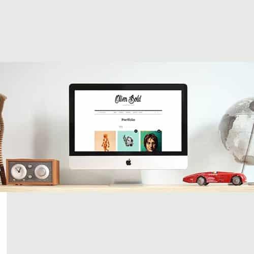 Oliver Classic Portfolio WordPress Theme