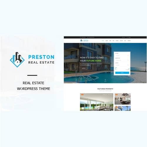 Preston Real Estate WordPress Theme